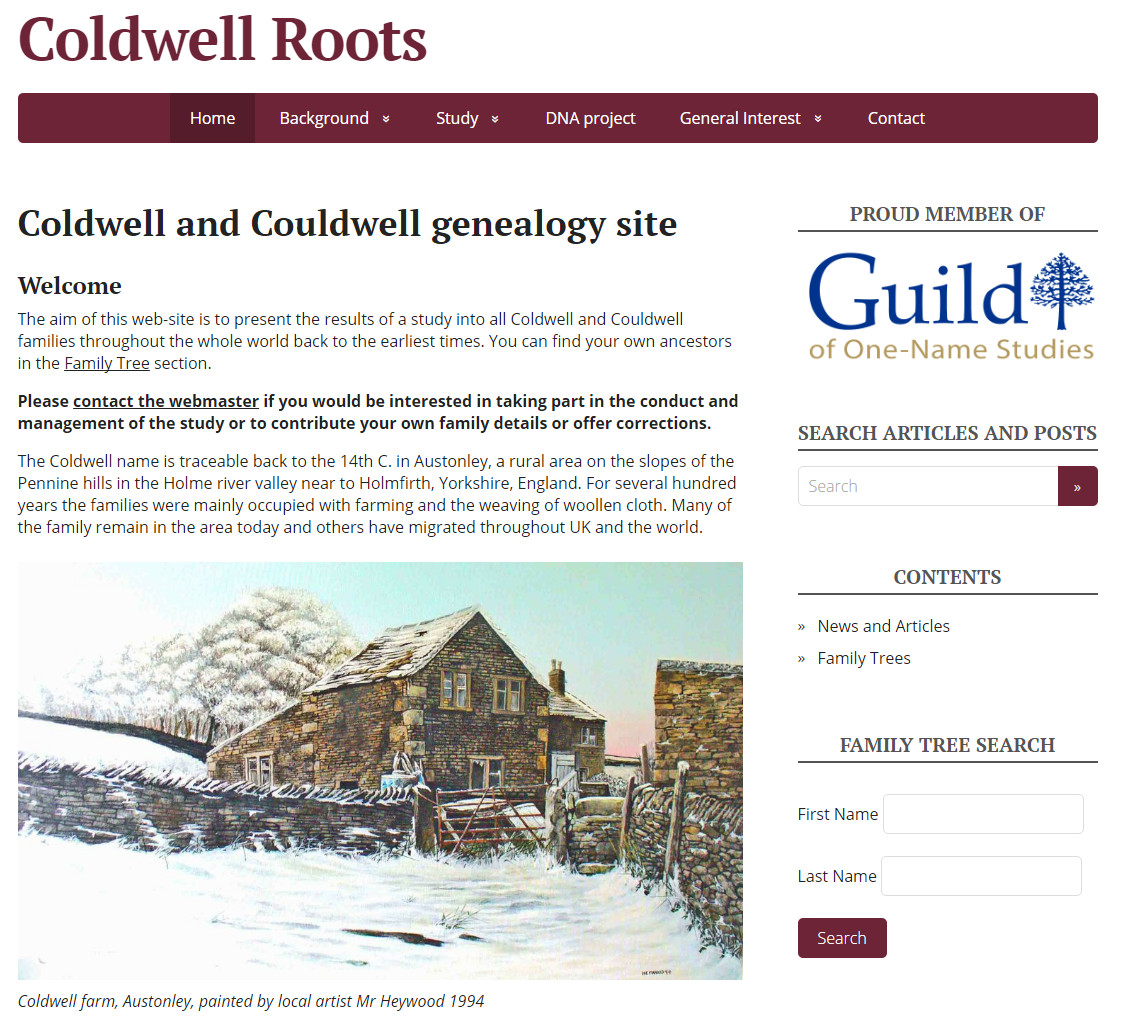 Coldwell Roots