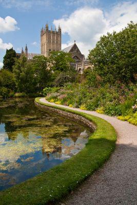 Bishops Palace Garden, Wells  (POTD)